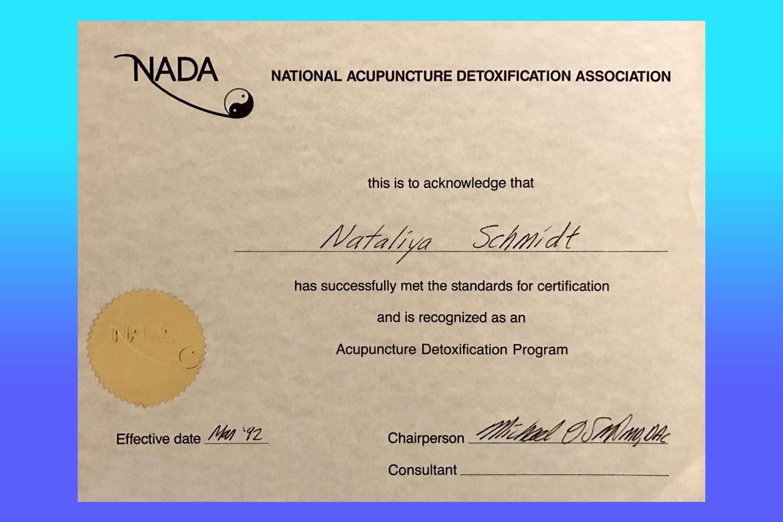 Dr natalia shmidt certification certification 1betcityfo Images
